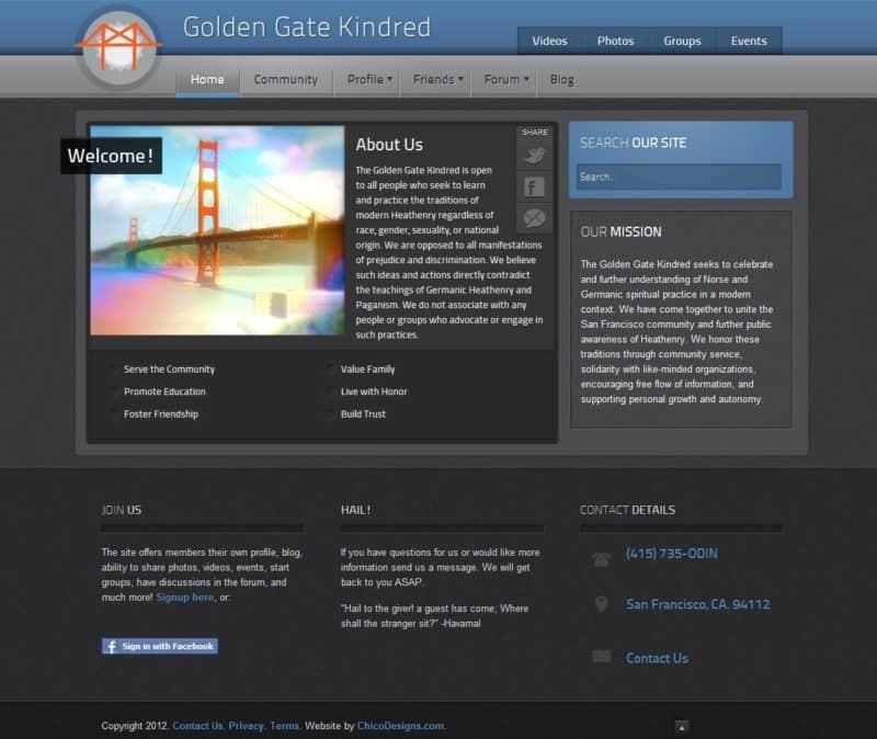 Golden Gate Kindred