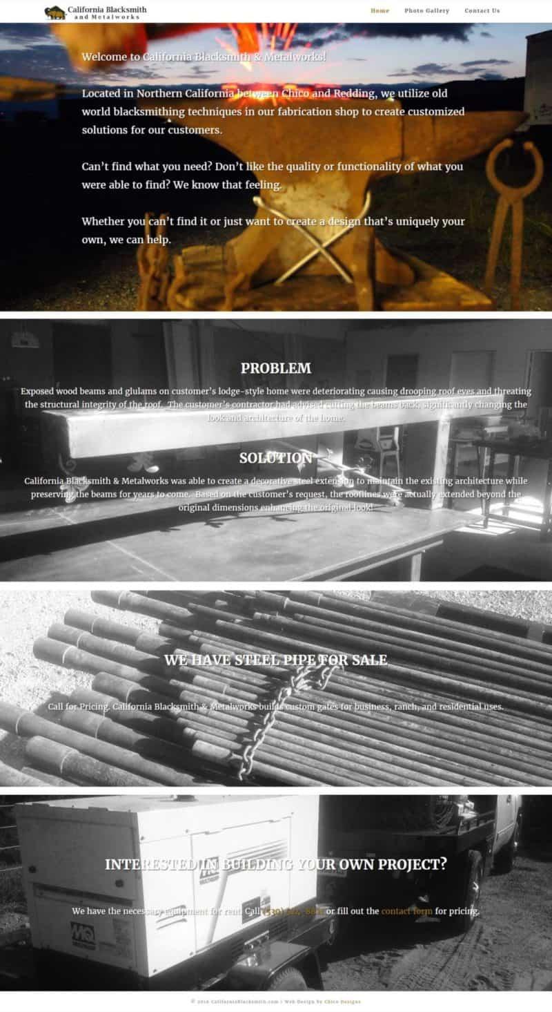 California Blacksmith