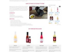 Catnip Wine